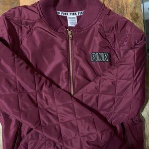 PINK Jacket - Burgundy